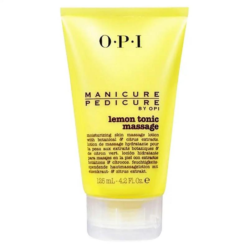 Manicure/Pedicure Lemon Tonic Scrub 125ml OPI - peeling