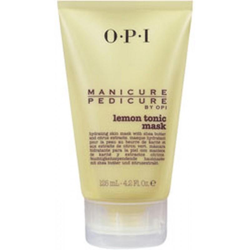 Manicure/Pedicure Lemon Tonic Mask 125ml OPI - maska OPI Mani Pedi